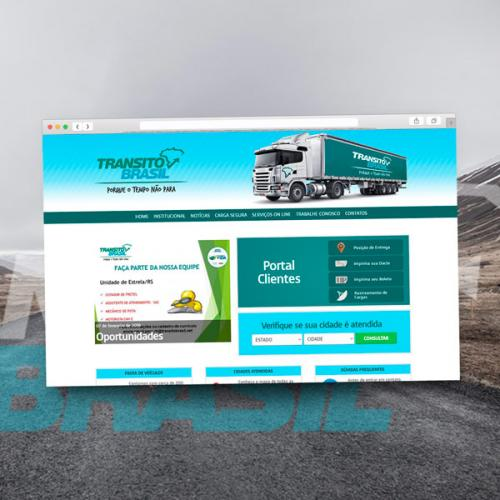 Site da Trânsito Brasil