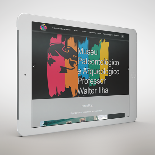 Site Cultura São Pedro do Sul